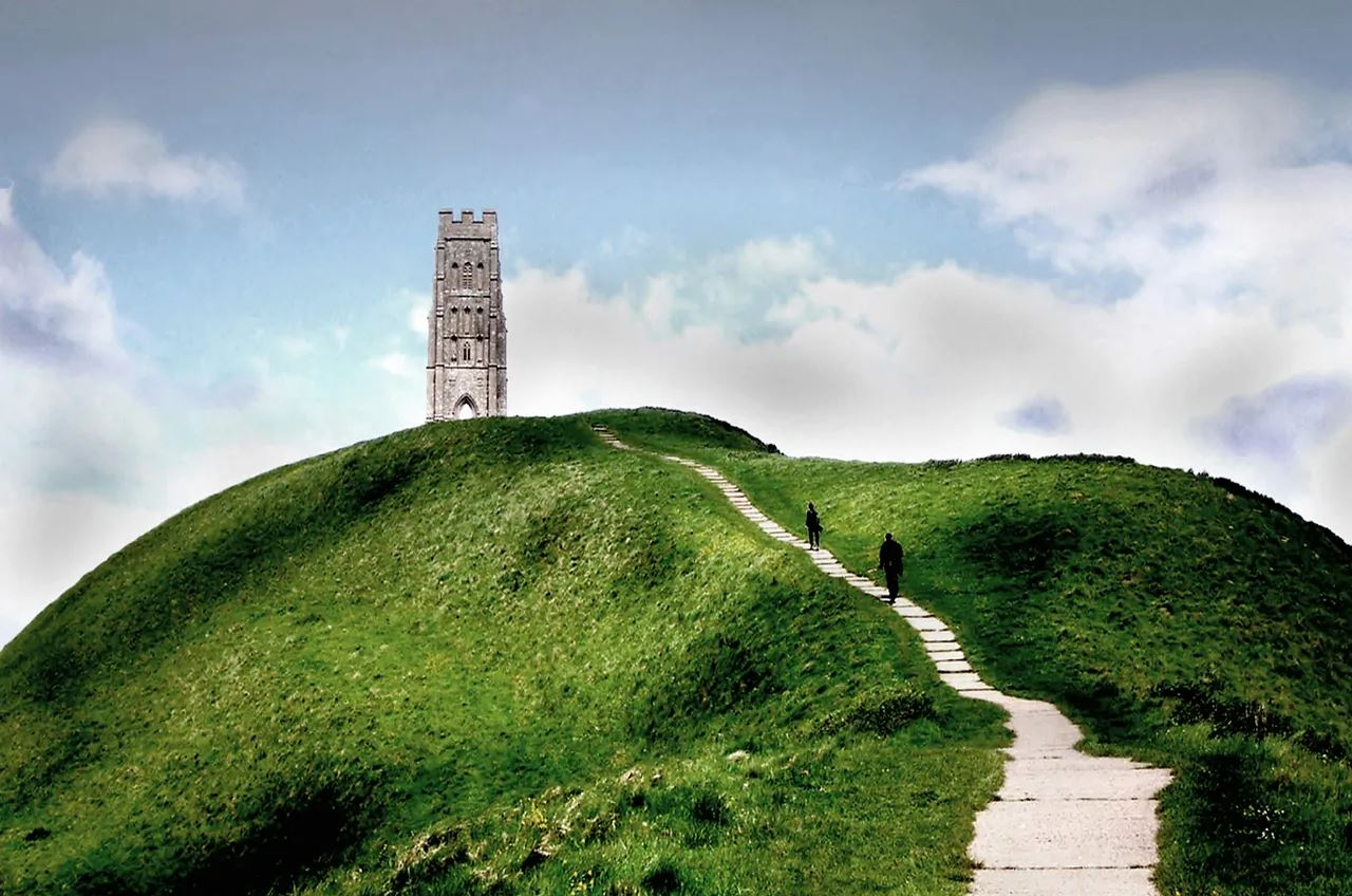 Third Eye Chakra Energy Center of Earth: Glastonbury Tor